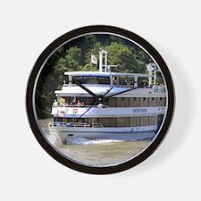 Vater Rhein tour boat, Germany Wall Clock