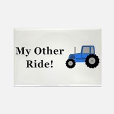 Tractor Other Ride Rectangle Magnet