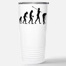 Cute Human evolution Travel Mug
