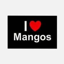 Mangos Rectangle Magnet