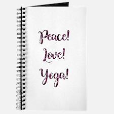 PEACE, LOVE, YOGA! Journal