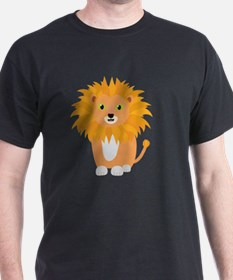 Lion with green eyes T-Shirt