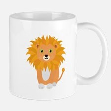 Lion with green eyes Mugs