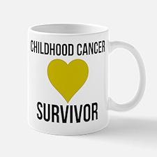 Childhood Cancer Survivor Mugs