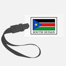 Cute South sudan flag Luggage Tag
