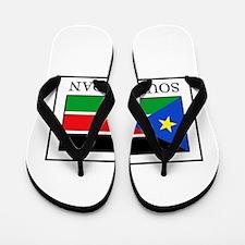 South Sudan Flip Flops