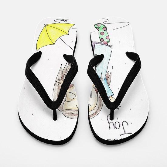 Cute Joy Flip Flops