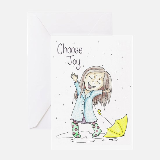 Cute Joy Greeting Card