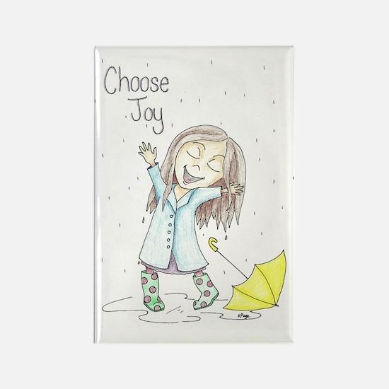 Cute Joy Rectangle Magnet
