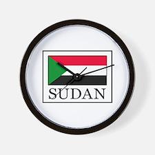 Sudan Wall Clock