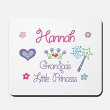 Hannah - Grandpa's Little Pri Mousepad
