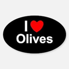 Olives Sticker (Oval)