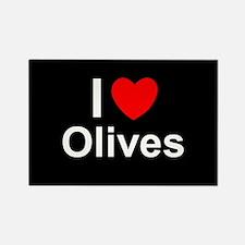 Olives Rectangle Magnet