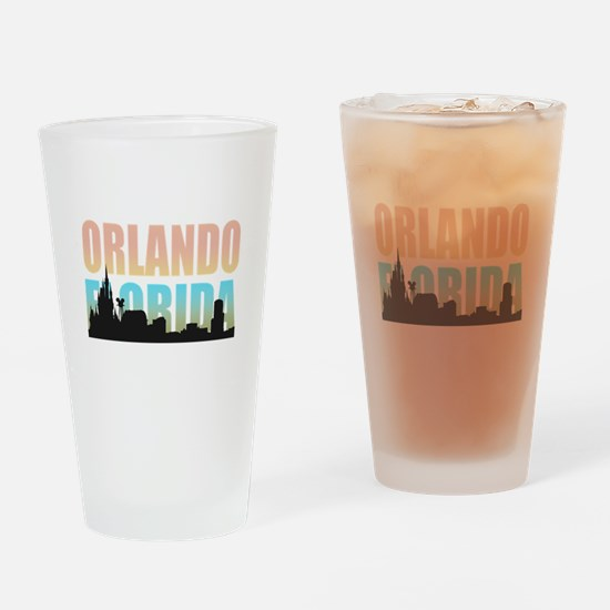 Orlando Florida Drinking Glass