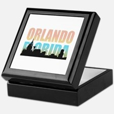 Orlando Florida Keepsake Box