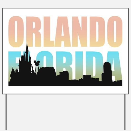 Orlando Florida Yard Sign