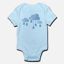 Pi in the Sky Clouds Blue Body Suit