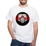 Darts Canada White T-Shirt