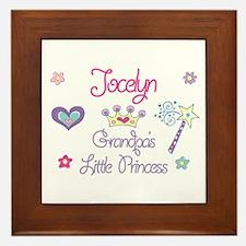Jocelyn - Grandpa's Little Pr Framed Tile