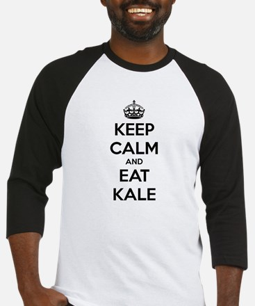 KEEP CALM AND EAT KALE Baseball Jersey