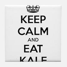 KEEP CALM AND EAT KALE Tile Coaster