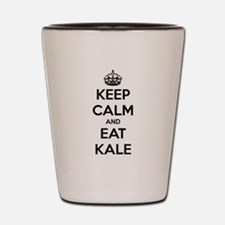 KEEP CALM AND EAT KALE Shot Glass
