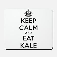 KEEP CALM AND EAT KALE Mousepad