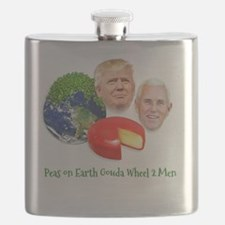 Funny Inauguration party Flask