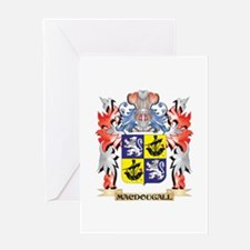 Macdougall Coat of Arms - Family Cr Greeting Cards