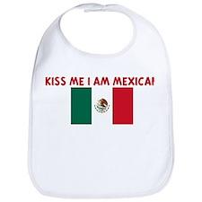 KISS ME I AM MEXICAN Bib