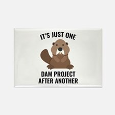 One Dam Project Rectangle Magnet