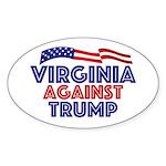 Virginia Against Trump Sticker