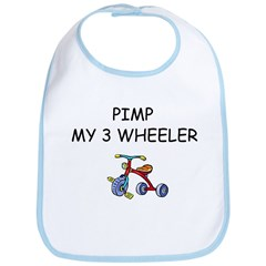 PIMP MY 3 WHEELER Bib