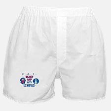 Blast Off with Edward Boxer Shorts