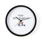 PIMP MY 3 WHEELER Wall Clock