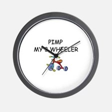 PIMP MY 3 WHEELER Wall Clock
