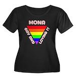 Mona Gay Pride (#007) Women's Plus Size Scoop Neck