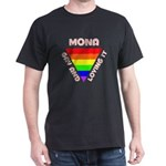 Mona Gay Pride (#007) Dark T-Shirt