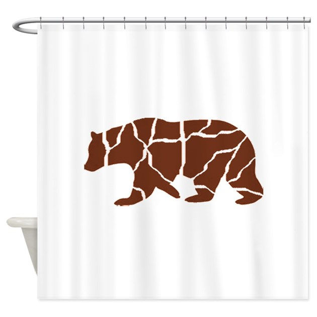 Bear Shower Curtain By Aroja