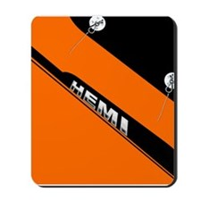 ORANGE HEMI  Mousepad