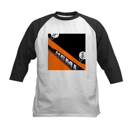 ORANGE HEMI Kids Baseball Jersey