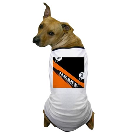 ORANGE HEMI Dog T-Shirt