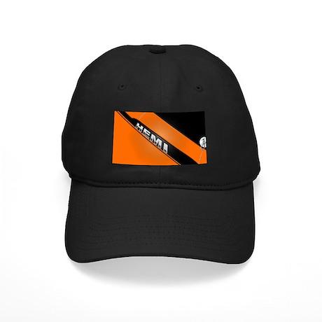 ORANGE HEMI Black Cap
