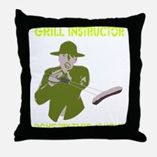 Barbecue Throw Pillow