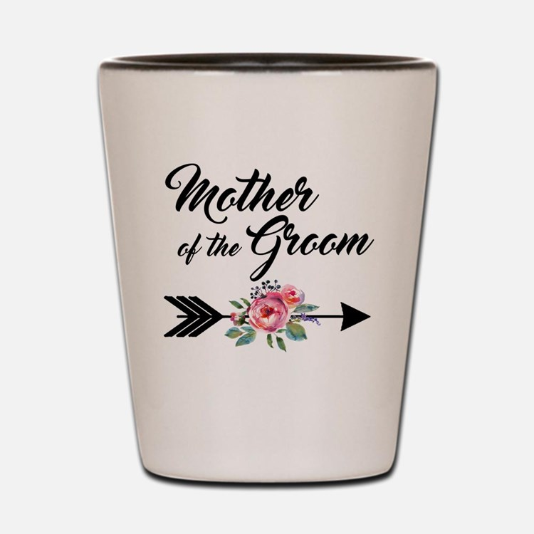 Mother of the Groom Shot Glass