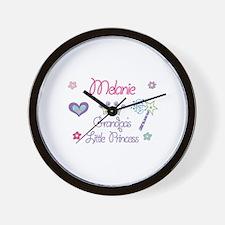 Melanie - Grandpa's Little Pr Wall Clock