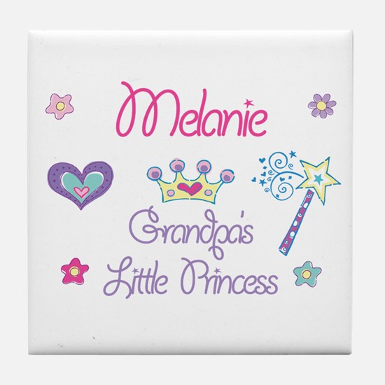 Melanie - Grandpa's Little Pr Tile Coaster