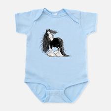 Cute Shire horse Infant Bodysuit