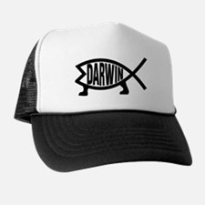 Original Darwin Fish Trucker Hat