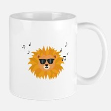 Cool Lion head Mugs